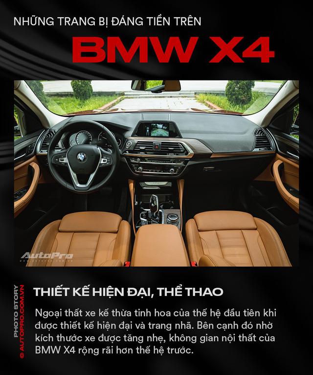 Những trang bị đáng tiền trên BMW X4 - Ảnh 7.