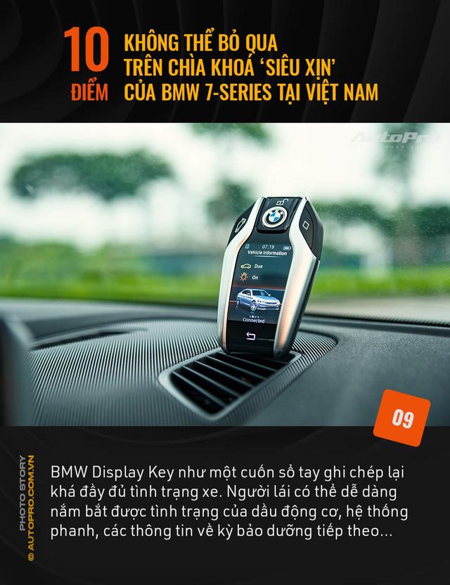 """10 điểm không thể bỏ qua trên chìa khoá """"siêu xịn"""" của BMW 7 Series tại Việt Nam - Ảnh 9."""