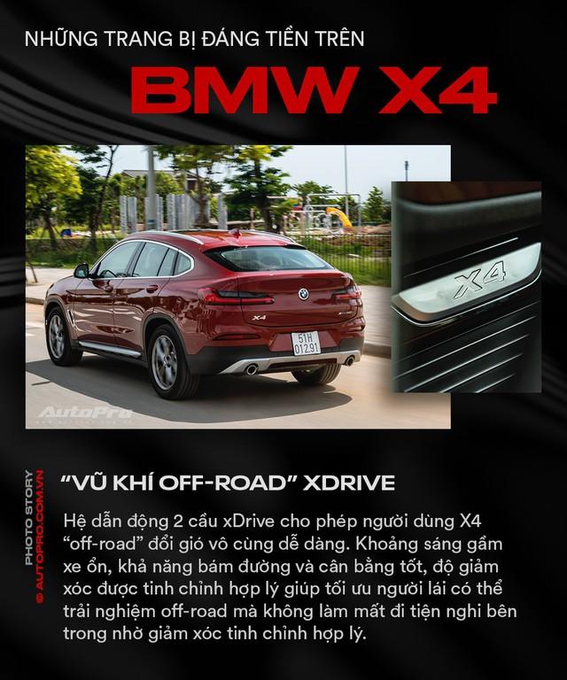 Những trang bị đáng tiền trên BMW X4 - Ảnh 9.