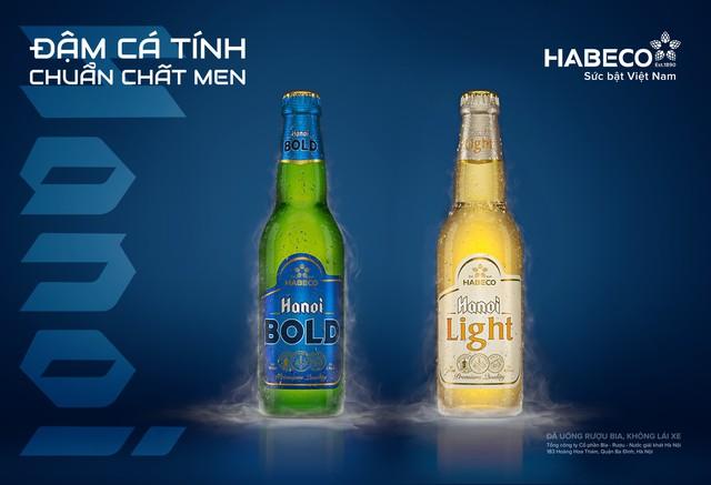 HABECO cho ra mắt cặp sản phẩm bia đẳng cấp Hanoi Bold và Hanoi Light - Ảnh 1.
