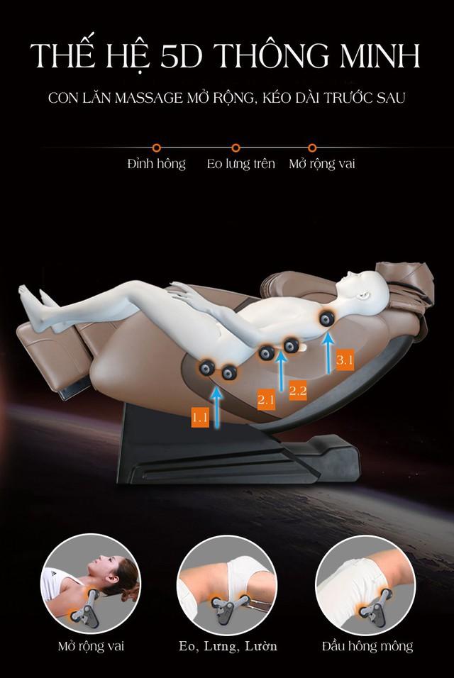 Fujikashi FJ-6000 - Ghế Massage Bán Chạy Hàng Đầu Việt Nam - Ảnh 1.