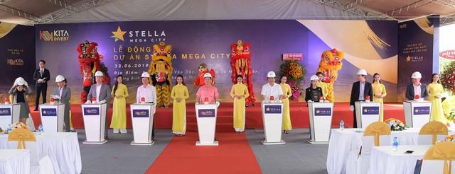 Kita Invest khởi công dự án khu đô thị Stella Mega City tại Cần Thơ - Ảnh 1.