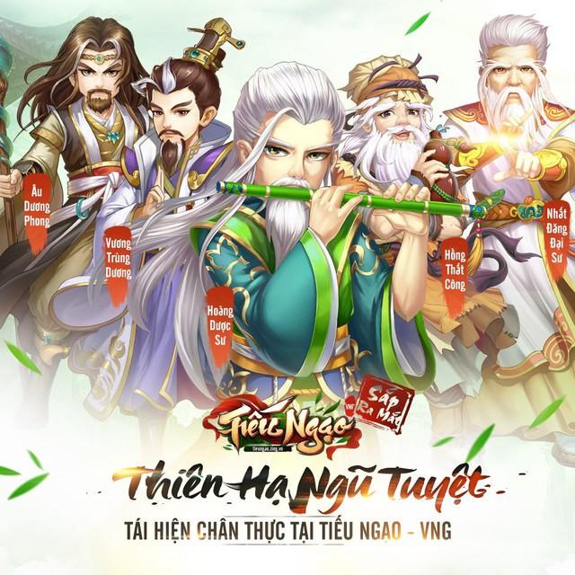 Tiếu Ngạo VNG - Game đấu tướng chiến thuật kiếm hiệp Kim Dung tặng free tướng xịn nhân dịp Alpha Test ngày 27/06/2019 - Ảnh 2.