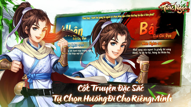 Tiếu Ngạo VNG - Game đấu tướng chiến thuật kiếm hiệp Kim Dung tặng free tướng xịn nhân dịp Alpha Test ngày 27/06/2019 - Ảnh 3.