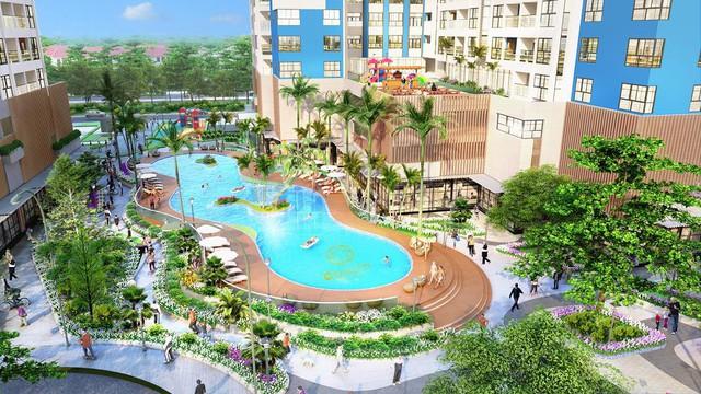 """Điểm danh những dự án ở """"thủ phủ công nghiệp Việt Nam"""" sở hữu tiện ích hạng sang như resort 5 sao - Ảnh 2."""