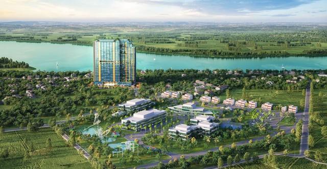Xuất hiện sản phẩm căn hộ khách sạn tại mỏ khoáng nóng gần Hà Nội - Ảnh 1.