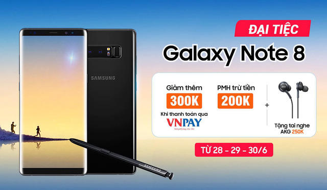 Galaxy Note 8, Galaxy S8 Plus reduced by more than 1 million to only 5.8 million dong - Photo 2.
