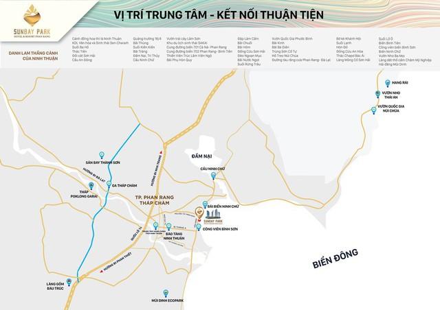 """SunBay Park Hotel & Resort Phan Rang: Giá trị """"vị trí kim cương"""" của tổ hợp cao nhất miền Trung - Ảnh 1."""