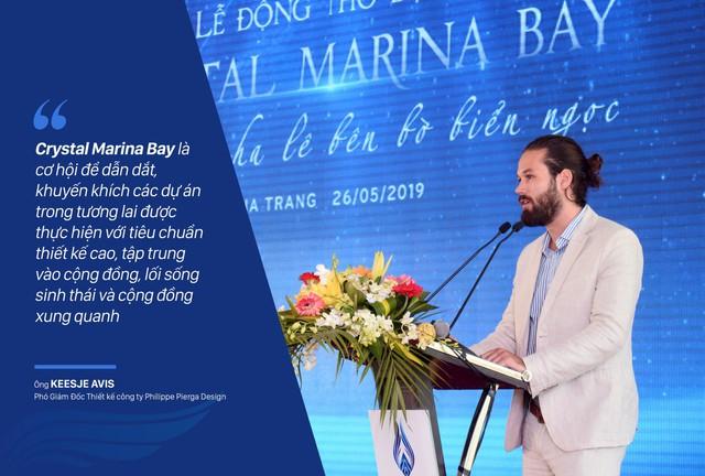 Crystal Marina Bay gây chú ý khi bắt tay với các đối tác quốc tế tên tuổi - Ảnh 1.