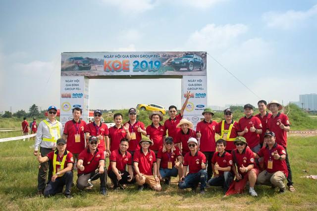 Hơn 100 xe Ford Everest tranh tài trong buổi offroad đầu tiên tại Hà Nội - Ảnh 2.