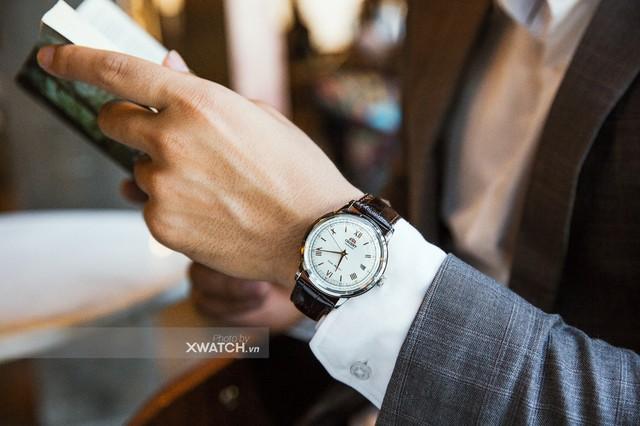 Quý ông lịch lãm cùng bộ sưu tập đồng hồ Orient Bambino - Ảnh 2.