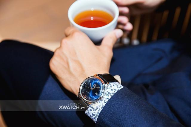 Quý ông lịch lãm cùng bộ sưu tập đồng hồ Orient Bambino - Ảnh 3.