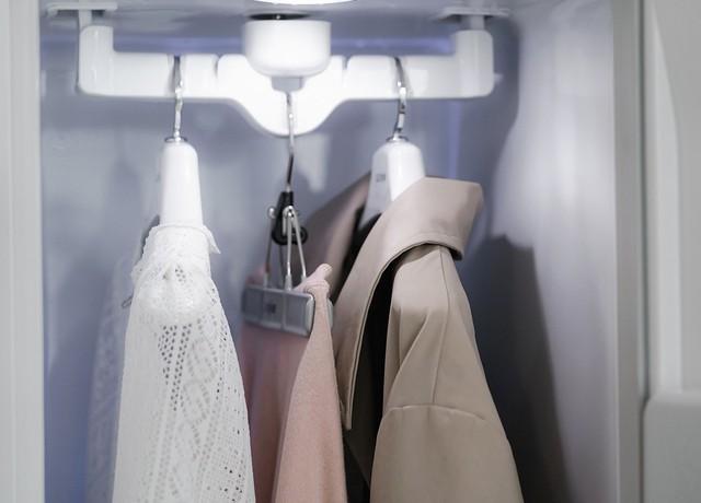 Tủ chăm sóc quần áo LG Styler: Bí quyết để bạn không bao giờ phải mang vest, đầm dạ hội ra tiệm giặt là? - Ảnh 9.