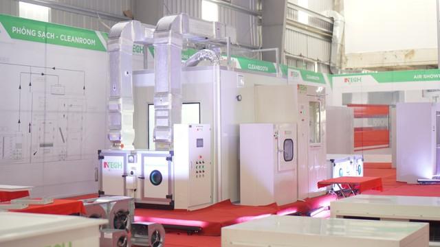 INTECH là tổng thầu xây dựng phòng sạch cho nhà máy dược phẩm CVI tại Láng Hòa Lạc - Ảnh 1.