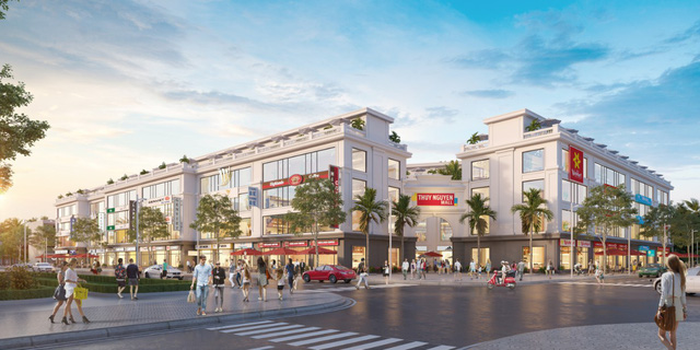 """Xu hướng đầu tư mới mang tên """"phố thương mại"""" - Ảnh 1."""