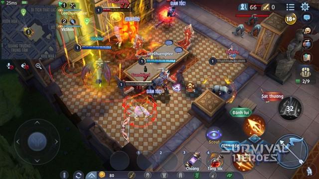 Survival Heroes được Google Play đề xuất là một trong những tựa game đáng chơi bậc nhất hiện nay - Ảnh 1.