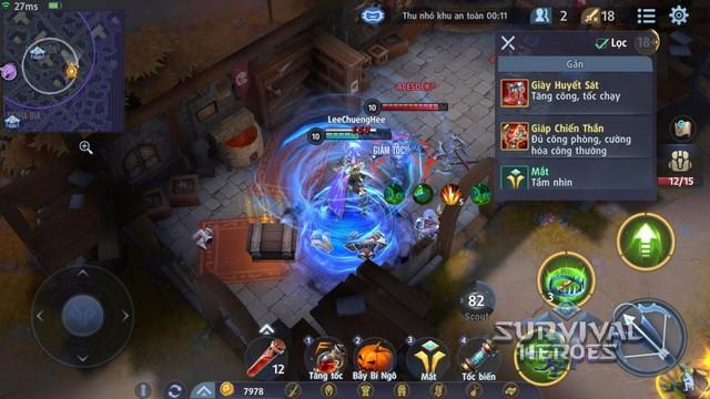 Survival Heroes được Google Play đề xuất là một trong những tựa game đáng chơi bậc nhất hiện nay - Ảnh 6.