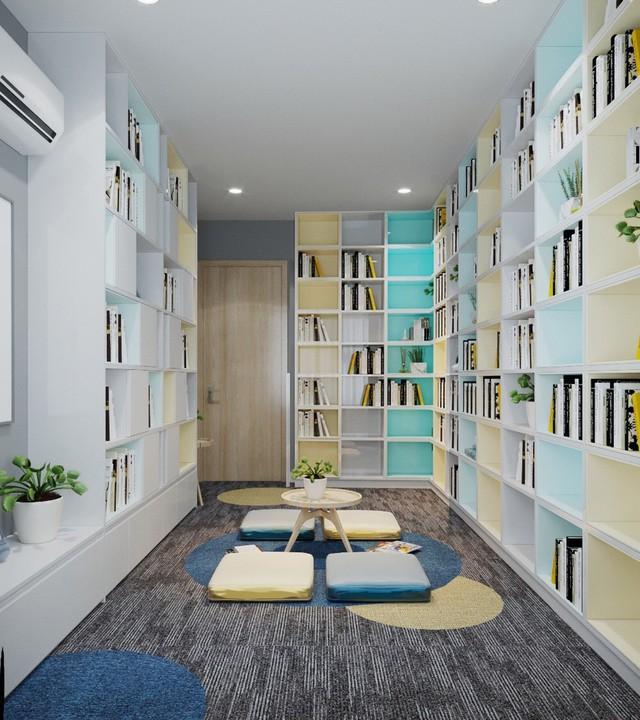 Căn hộ 3 phòng ngủ thiết kế đẹp mắt của doanh nhân Sài Gòn - Ảnh 2.