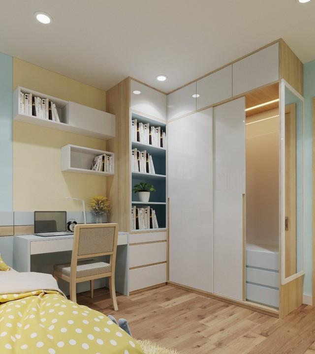 Căn hộ 3 phòng ngủ thiết kế đẹp mắt của doanh nhân Sài Gòn - Ảnh 8.