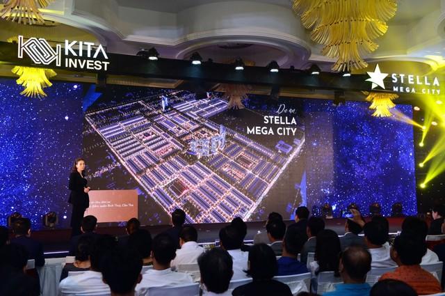 Kita Invest chính thức ra mắt dự án Stella Mega City tại Cần Thơ - Ảnh 1.