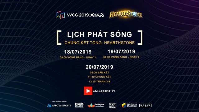 Lịch phát sóng chính thức vòng chung kết WCG 2019 - ảnh 3