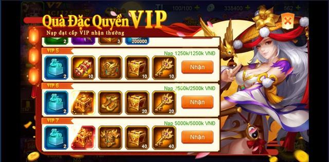 Danh Tướng 3Q – VNG tặng quà giá trị lên đến 5 triệu đồng khi ra mắt server đặc biệt - ảnh 3