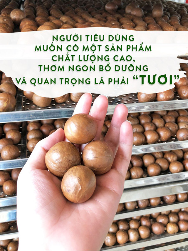 Niềm khát khao đưa Mắc ca Việt đi khắp 5 châu - Ảnh 1.