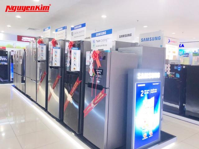 Bùng nổ ưu đãi máy giặt, tủ lạnh duy nhất trong Tuần Lễ Vàng Hàn Quốc tại Nguyễn Kim - Ảnh 2.