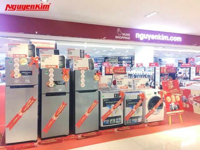 Bùng nổ ưu đãi máy giặt, tủ lạnh duy nhất trong Tuần Lễ Vàng Hàn Quốc tại Nguyễn Kim - Ảnh 3.