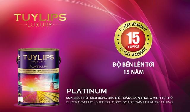 Ra mắt dòng sơn cao cấp Tuylips Luxury – Khác biệt để dẫn đầu - Ảnh 3.