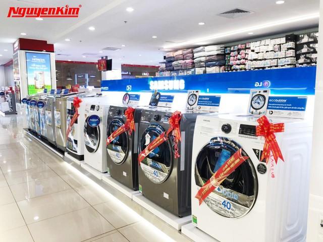 Bùng nổ ưu đãi máy giặt, tủ lạnh duy nhất trong Tuần Lễ Vàng Hàn Quốc tại Nguyễn Kim - Ảnh 4.
