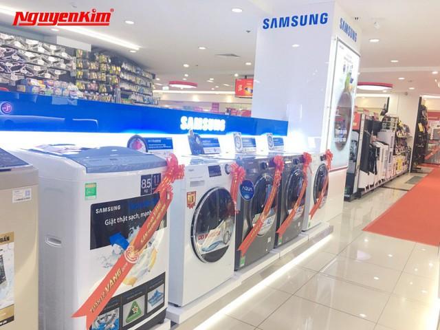 Bùng nổ ưu đãi máy giặt, tủ lạnh duy nhất trong Tuần Lễ Vàng Hàn Quốc tại Nguyễn Kim - Ảnh 5.
