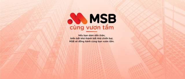 MSB – Tiên phong để tạo khác biệt - Ảnh 1.