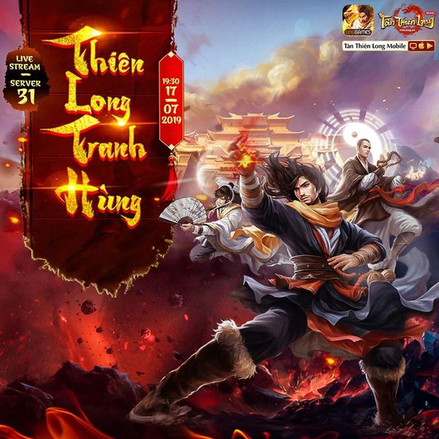 Thiên Long Tranh Hùng, giải đấu hấp dẫn khuấy động cộng đồng Tân Thiên Long Mobile - Ảnh 1.