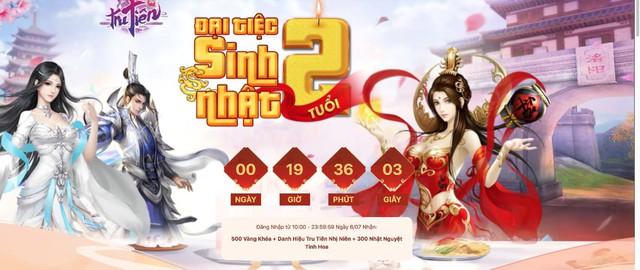 """Đại tiệc sinh nhật Tru Tiên 3D Mobile 2 tuổi, game thủ """"mỏi tay"""" nhận quà siêu trị giá 222 triệu - Ảnh 2."""