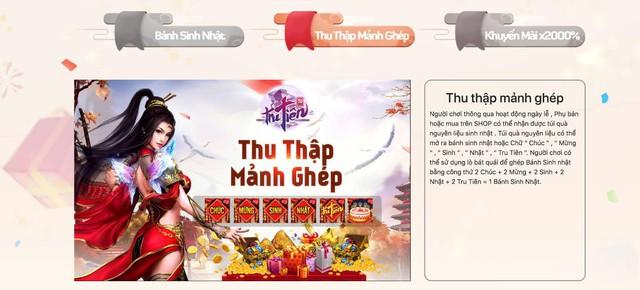 """Đại tiệc sinh nhật Tru Tiên 3D Mobile 2 tuổi, game thủ """"mỏi tay"""" nhận quà siêu trị giá 222 triệu - Ảnh 3."""