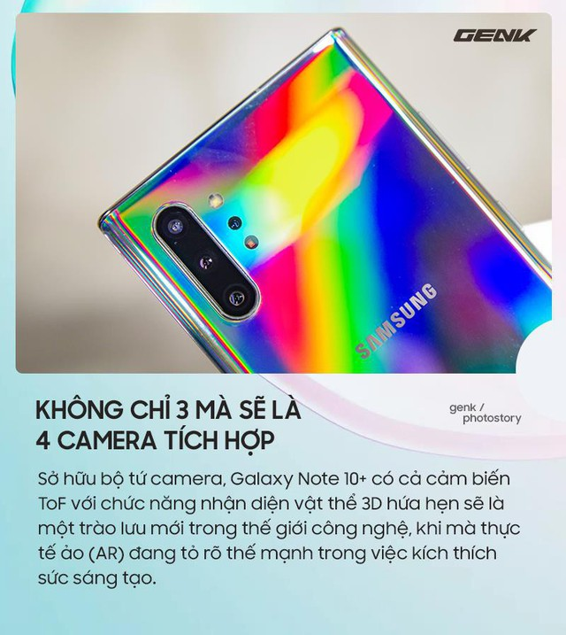 Điểm qua những tính năng dự kiến sẽ phá đảo thị trường của Galaxy Note 10 - Ảnh 3.