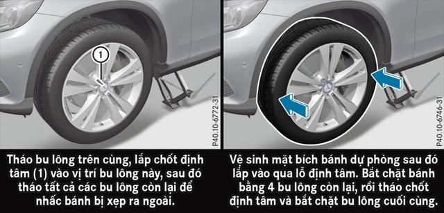 Làm gì khi lốp xe Mercedes-Benz bị thủng?  - Kỳ II - Ảnh 7.