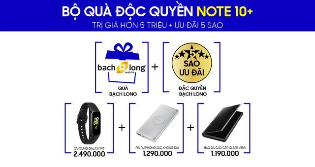 """Đặt hàng Galaxy Note 10, Note 10+ chính hãng, nhận bộ quà có """"một không hai"""" - Ảnh 2."""