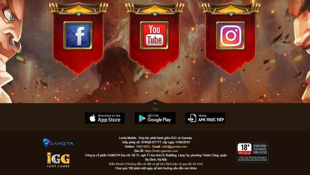 Gamota chính thức hợp tác IGG phát hành Lords Mobile tại Việt Nam - Ảnh 2.
