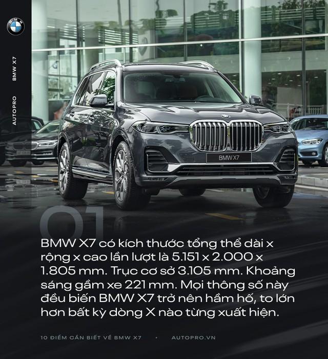 10 điểm cần biết về BMW X7 - SUV đầu bảng cho 'thượng đế' Việt - Ảnh 1.