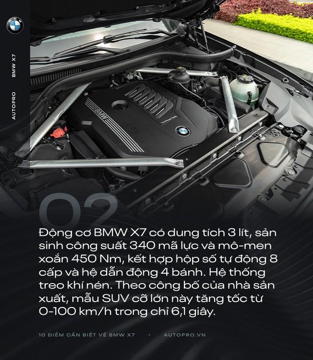10 điểm cần biết về BMW X7 - SUV đầu bảng cho 'thượng đế' Việt - Ảnh 2.