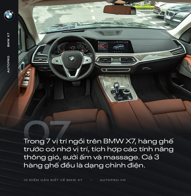 10 điểm cần biết về BMW X7 - SUV đầu bảng cho 'thượng đế' Việt - Ảnh 7.