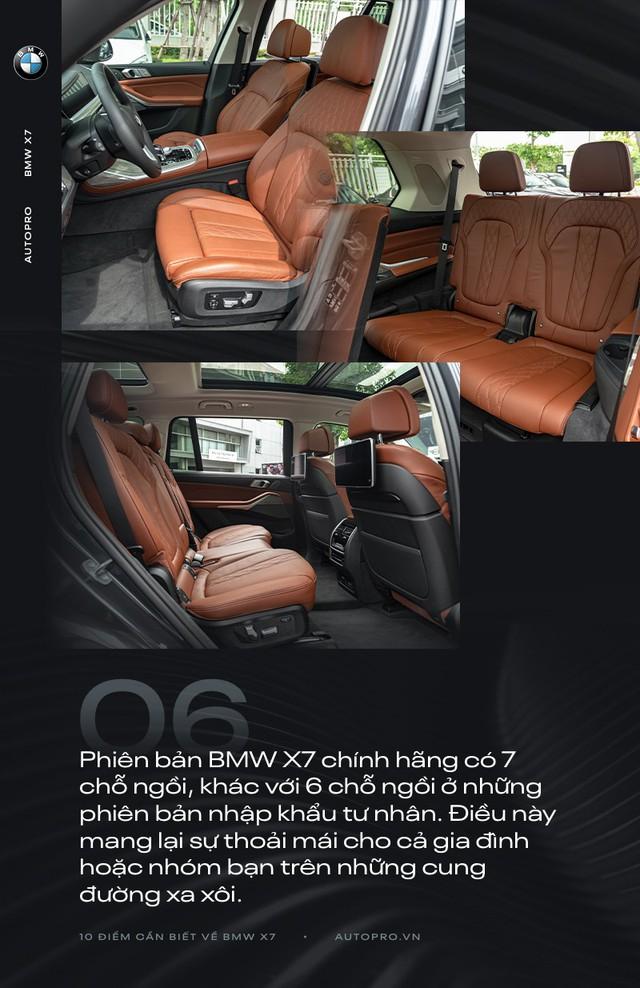 10 điểm cần biết về BMW X7 - SUV đầu bảng cho 'thượng đế' Việt - Ảnh 6.