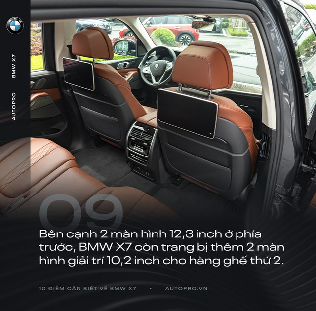 10 điểm cần biết về BMW X7 - SUV đầu bảng cho 'thượng đế' Việt - Ảnh 9.