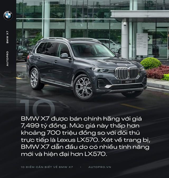 10 điểm cần biết về BMW X7 - SUV đầu bảng cho 'thượng đế' Việt - Ảnh 10.