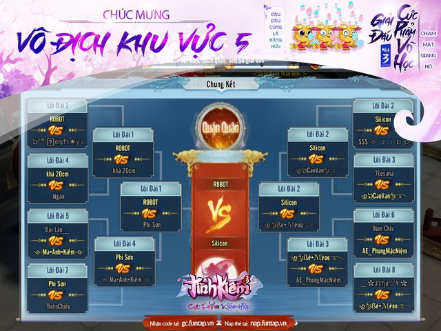 """Tình Kiếm 3D – siêu giải đấu """"Cực Phẩm Võ Học mùa 3"""" đã tìm ra được cái tên hoàn toàn xứng đáng với danh hiệu """"Tân Đại Minh Chủ"""" - Ảnh 5."""