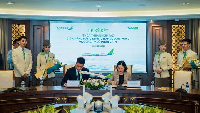 bamboo airways - photo 1 15666063365371837167794 - Bamboo Airways triển khai bán vé 25 đường bay trên ZaloPay với ưu đãi hấp dẫn