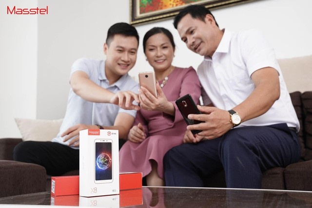Tiên phong sản xuất smartphone cho người có tuổi – ý tưởng liều lĩnh nhưng đầy nhân văn của Masscom - Ảnh 3.
