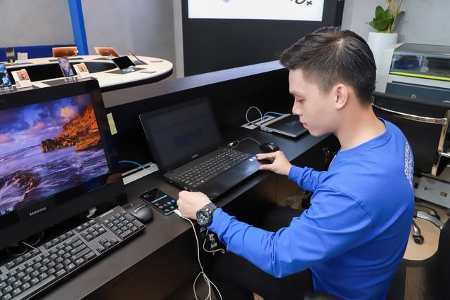 Một ngày khám phá cửa hàng trải nghiệm Samsung chuẩn quốc tế vừa ra mắt - Ảnh 8.